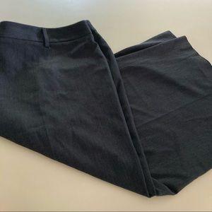Lane Bryant NEW Gaucho Dress Pants Dark Gray 20